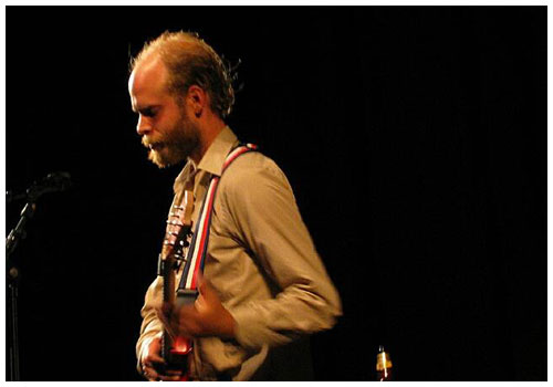 Will Oldham en concert à Rotterdam (Schouwburg Hall, Motel Mozaique Festival) le 28 mars 2003 - Photo © Willem Van Der Hut, 2003